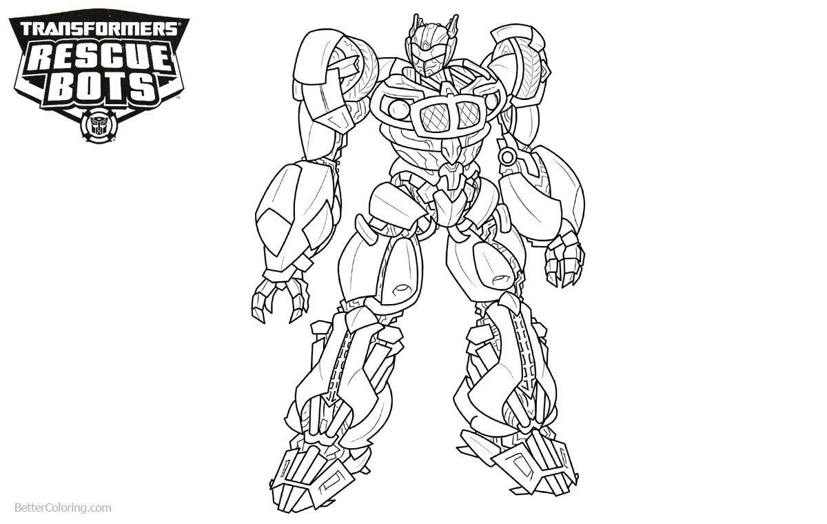 Rescue Bots Coloring Pages Transformers Rescue Bots Coloring Pages