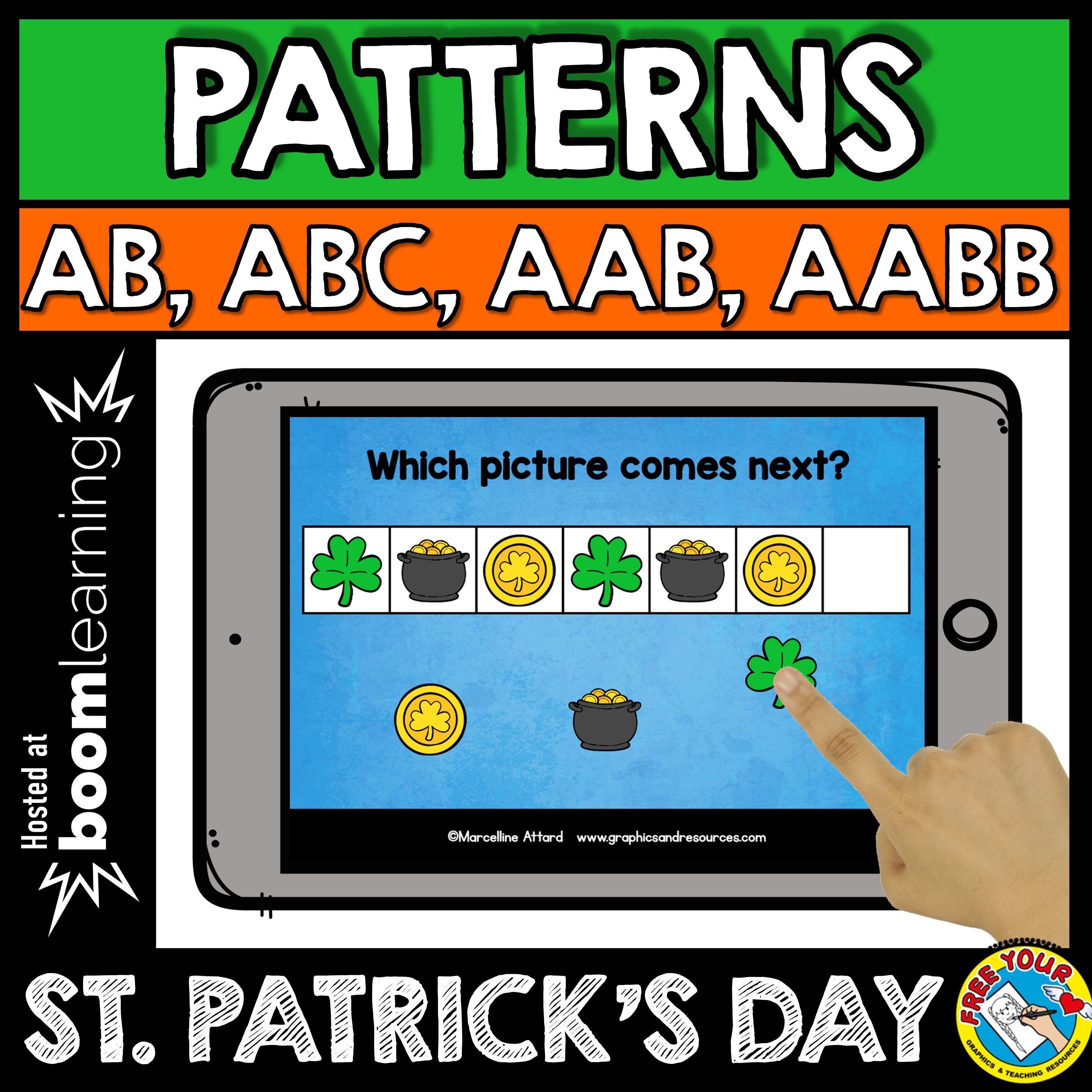 St Patrick S Day Patterns St Patrick S Day Sequencing