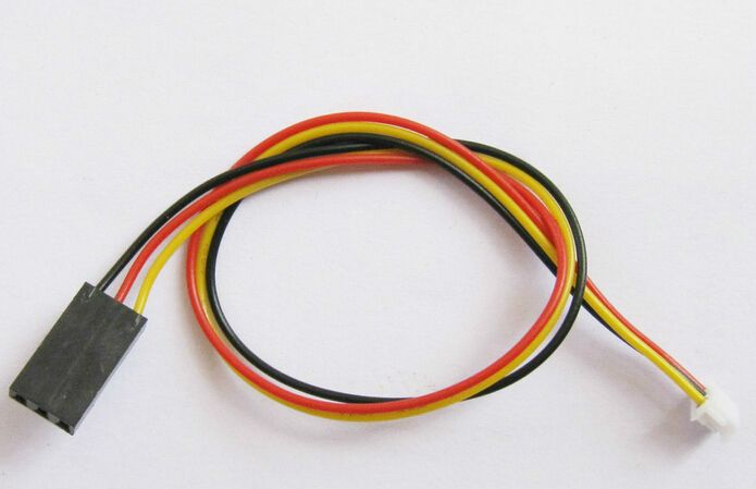 CCD FPV Camera Cable Connector for OSD Transmitter 3 Pin 20CM