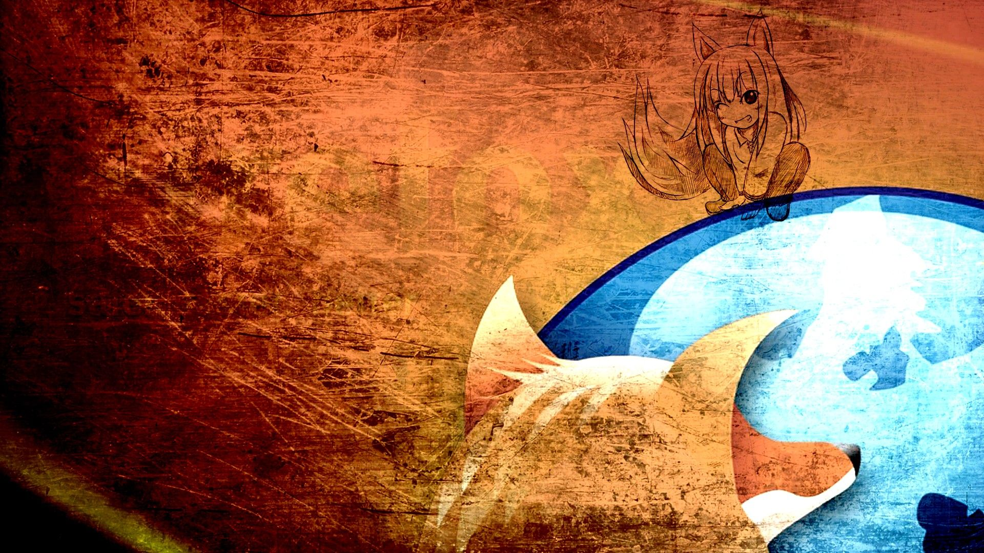 mozilla firefox anime wallpaper hd | wallpapers | pinterest
