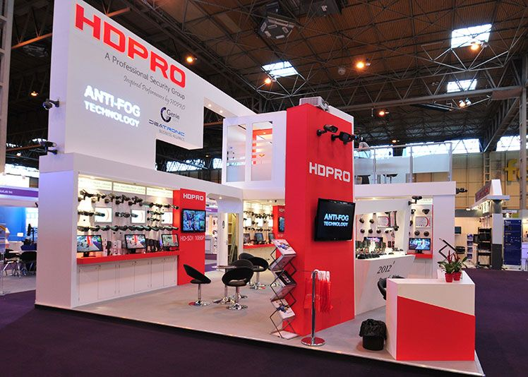 Island Exhibition Stand : Hd pro double deck island stand sides open stands