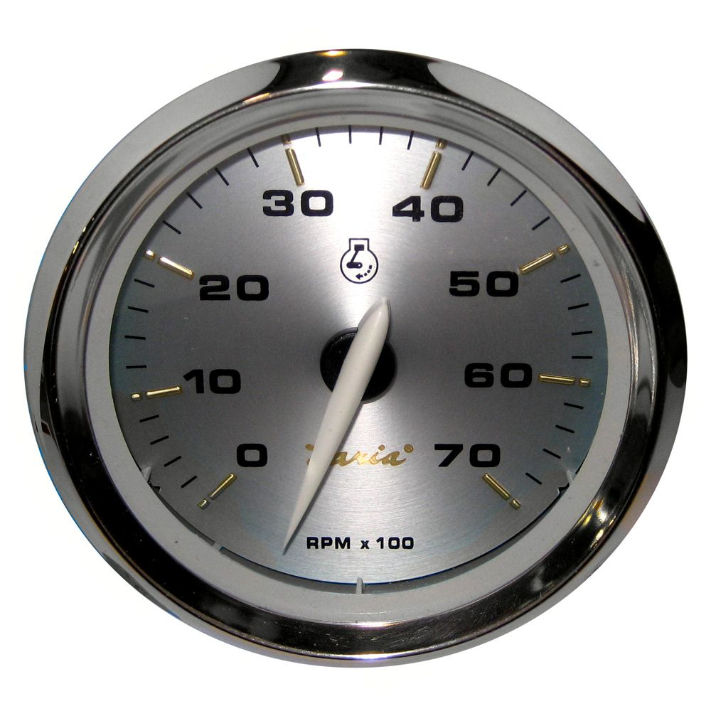 Faria Kronos 4 Tachometer 7 000 Rpm Gas All Outboards Boat Yacht Parts Store Tachometer Gas Alternator