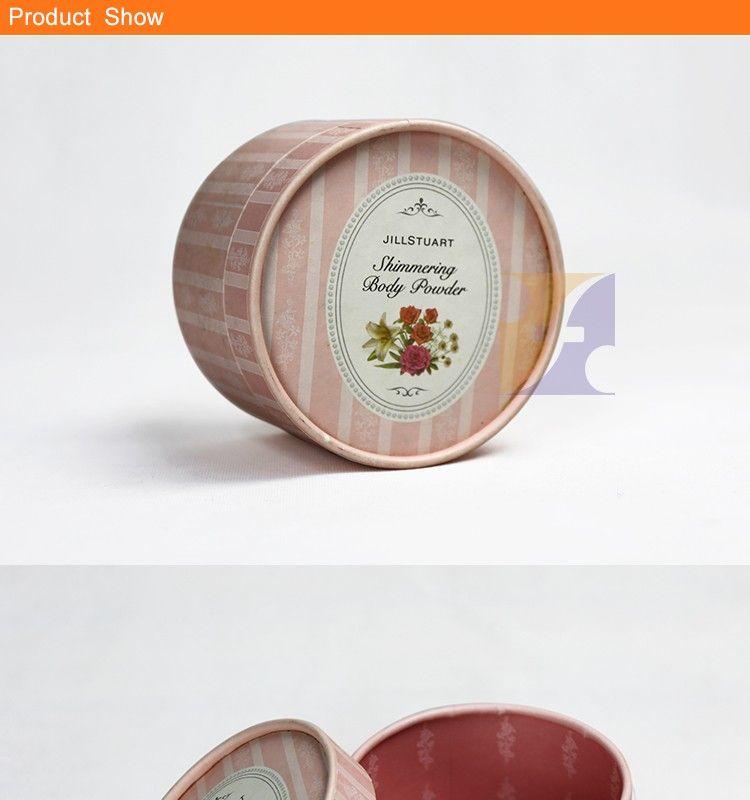Jillstuart Decorative Christmas Gift Box Round Cardboard Paper Box