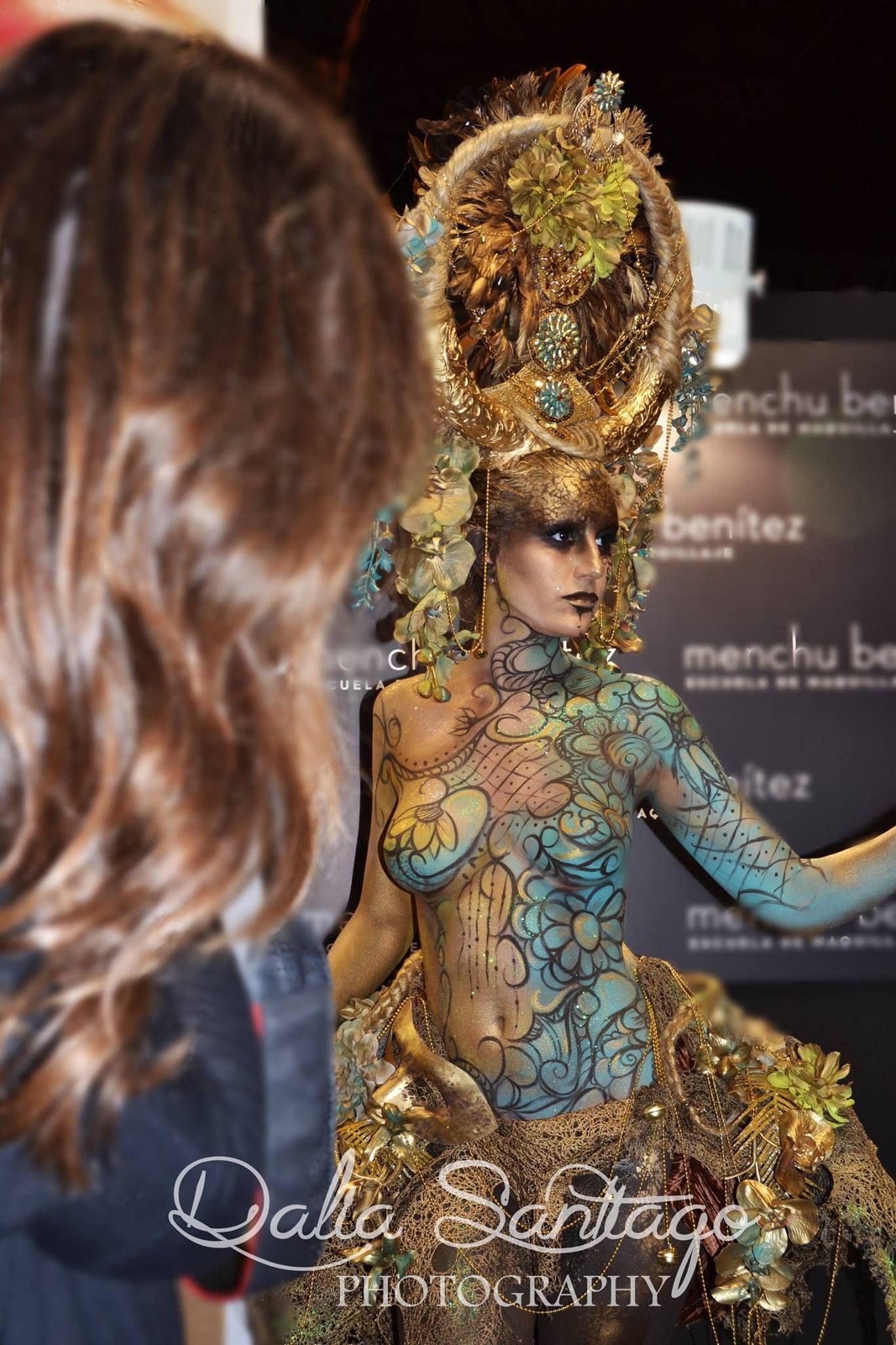 Maquillajes Realizados El Sábado En Expobellezaandalucia Con Productos Makeupforever Sevill Tatuajes De Arte Corporal Pintura De Arte Corporal Estilo Tribal