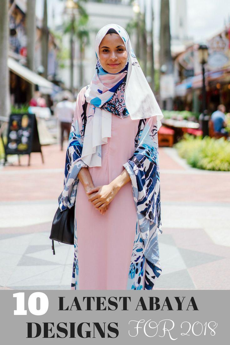 Latestabaya designs for muslimah hijab fashionabaya style