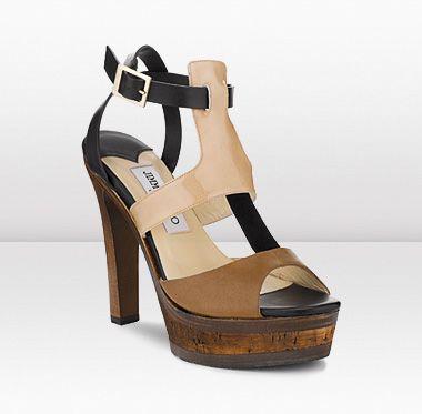 Cool! Jimmy Choo clog sandals...