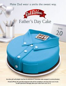Foodivities Red Ribbon S Special Father S Day Cake Cakes Cakes
