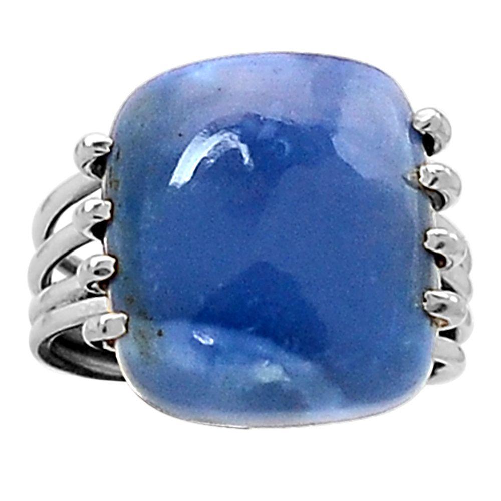 Owyhee Opal 925 Sterling Silver Ring Jewelry s.8 5011R