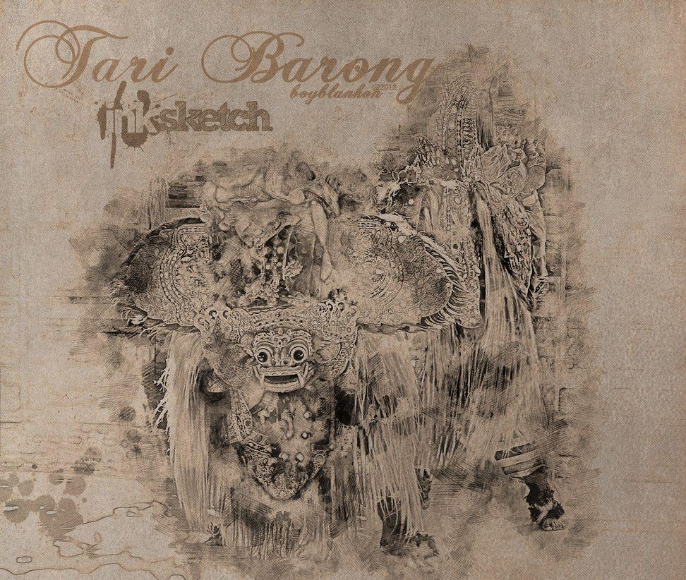 Barong Dalam Sketsa Dalam Kisah Kisah Mitologi Tradisional Bali