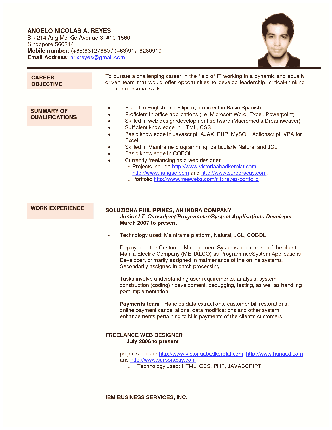 Quora Resume format, Best resume format, Good resume