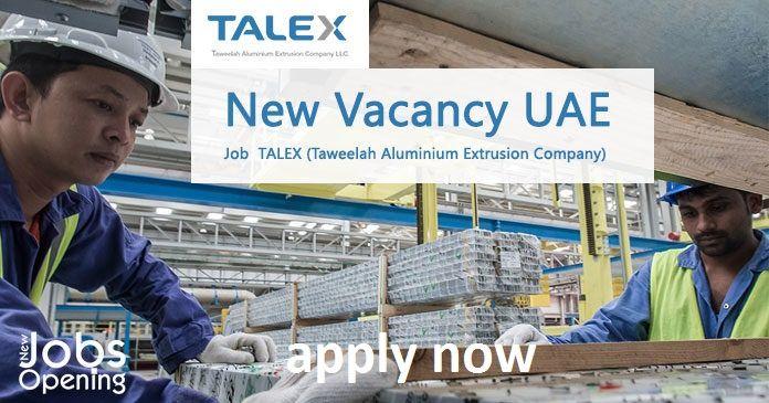 Apply Now Company Job Aluminum Extrusion Job Opening