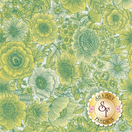 Liberty Garden 1704-03 Sweet Liberty Light Yellow by Dover Hill for ...