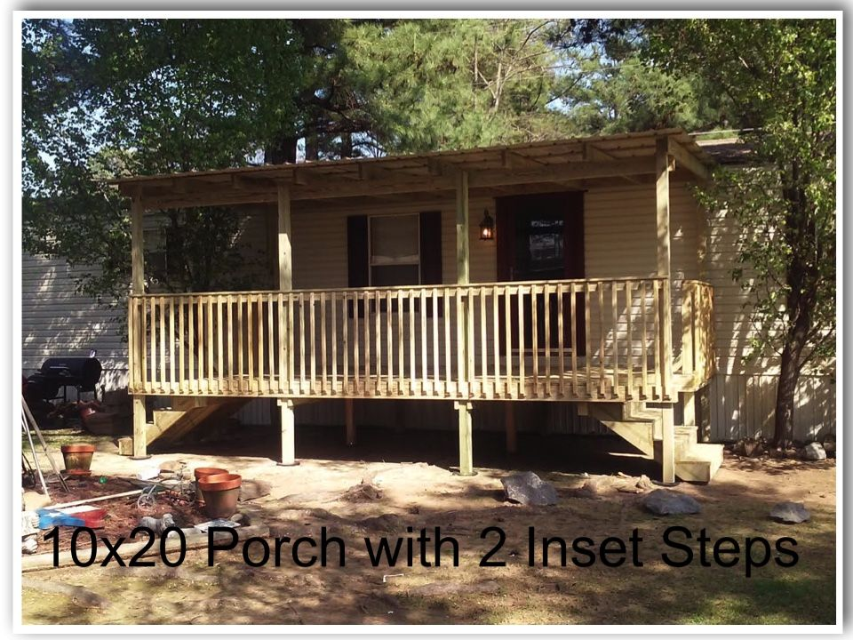 Ready Porch Gallery With Images Decks Backyard Patio Mobile Home Porch Decks And Porches