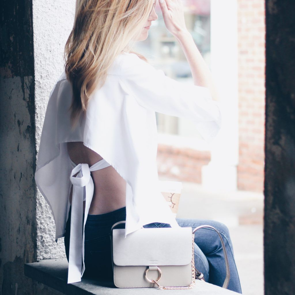 Open Back Shirt and The Hottest Fall Shoes | Mullets, Envy and Passion