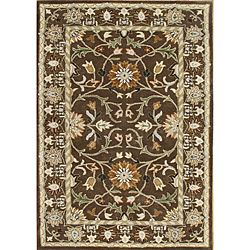 @Overstock - Bring extraordinary elegance to any floor space in your home with this handmade New Zealand wool rug.  This wool rug features a unique Persian pattern your guests are sure to compliment you on, and it has a comfortable high pile thats soft on the toes.http://www.overstock.com/Home-Garden/Sabrina-100-Hand-Made-Chocolate-Brown-New-Zealand-Wool-Rug-8-x-10/6786766/product.html?CID=214117 $323.99