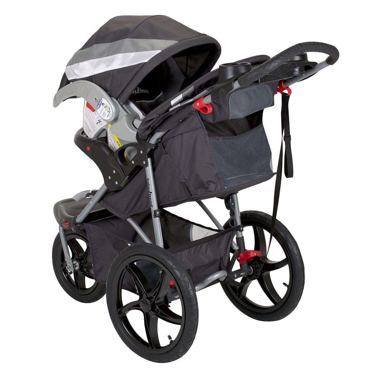 Baby Trend Flex Loc Car Seat Compatible Strollers Jeep Jogging