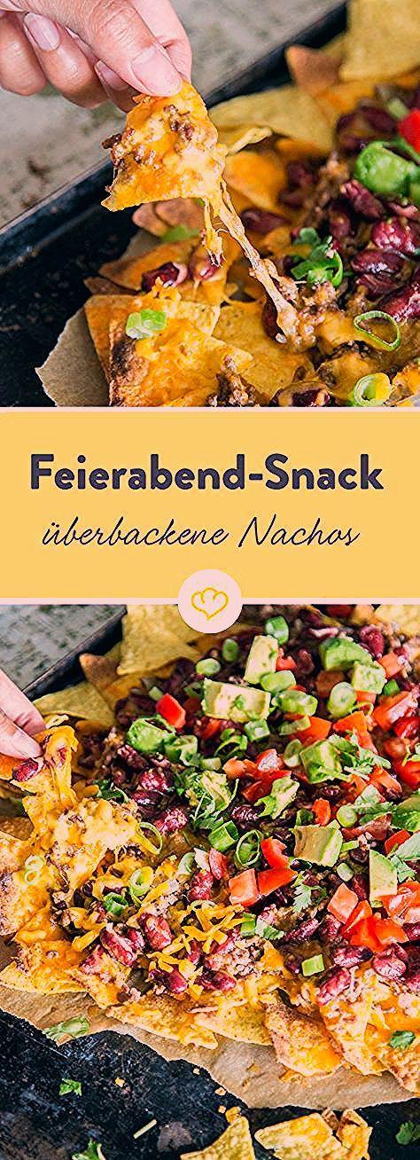 Photo of Nachos: Überbackene Totilla Chips mit Käse und Hack