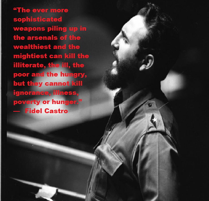 Fidel Castro Quotes In English