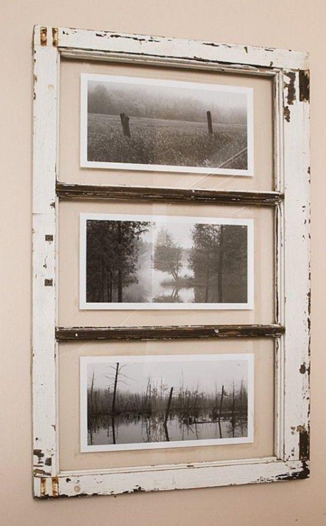 DECORACIÓN: Puertas y ventanas recicladas | DIY | Pinterest | Marcos ...