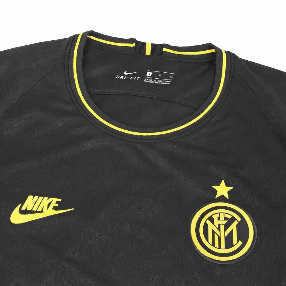 Tanzania Generalmente hablando puesto  Camiseta Nike 3a Inter Stadium 19 20 negra   futbolmania   Nike, Camiseta,  Futebol