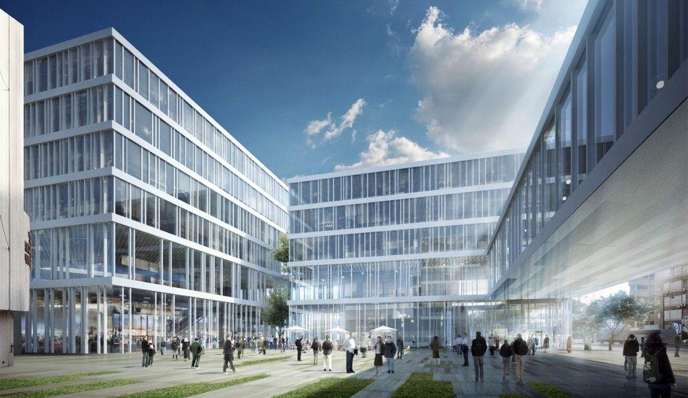 Gallery of netanya city hall proposal zarhy architects for Virtuelle wohnungsplanung