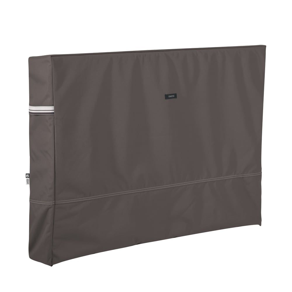 Classic Accessories Outdoor Tv Cover Brown Polyester In 2020