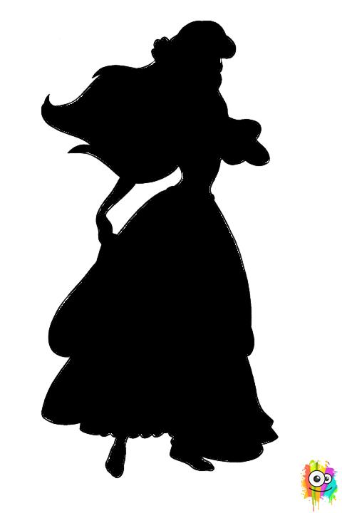 Princesa Ariel | Dibujos en blanco y negro | Pinterest | Coloring ...