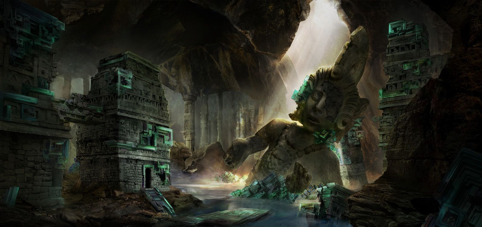16++ Underground temple ideas