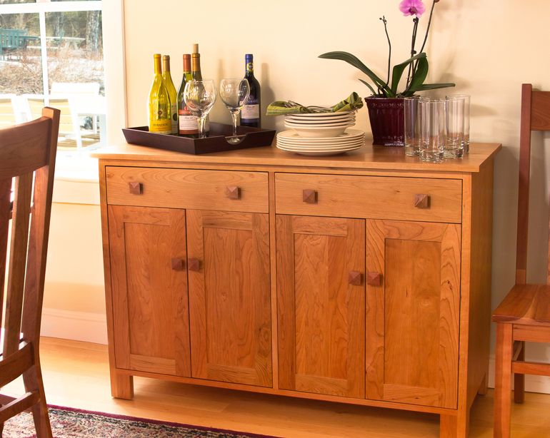 Mission Style Buffet Sideboard Wooden FurnitureDining Room