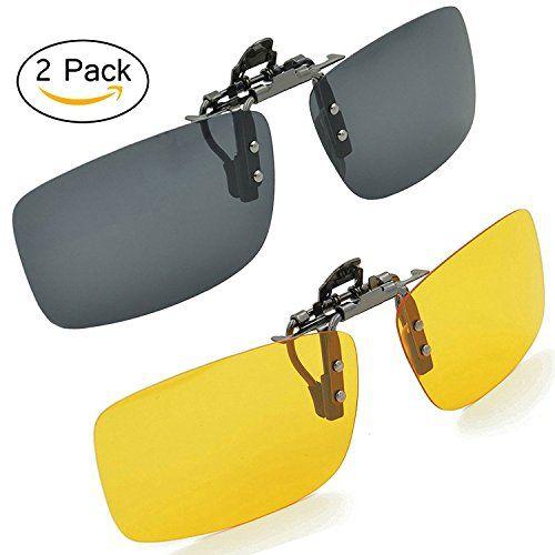 e97eab52ae7 Eoney Polarized Clip on Sunglasses