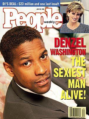 Image result for denzel washington people magazine cover