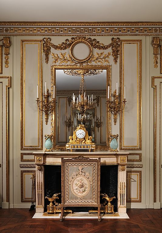 Boiserie From The H 244 Tel De Cabris Grasse Now In The Met