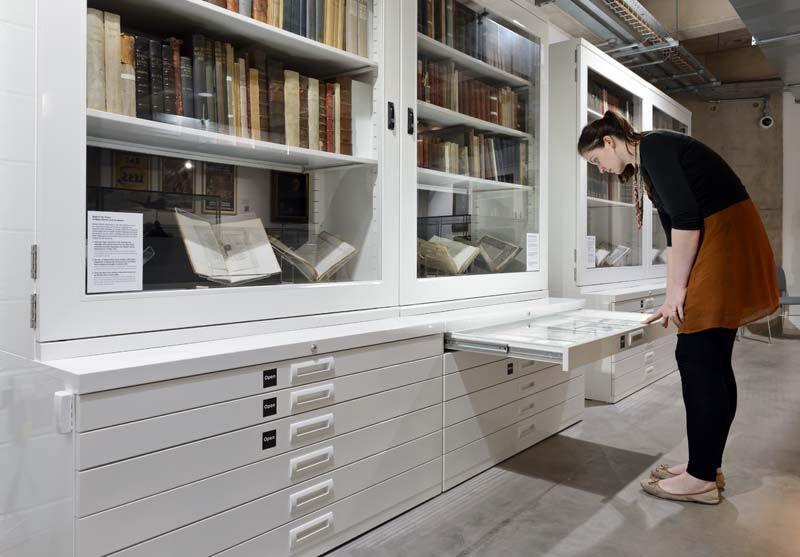 Bruynzeel Storage Systems.Cheltenham Art Gallery And Museum The Wilson Bruynzeel