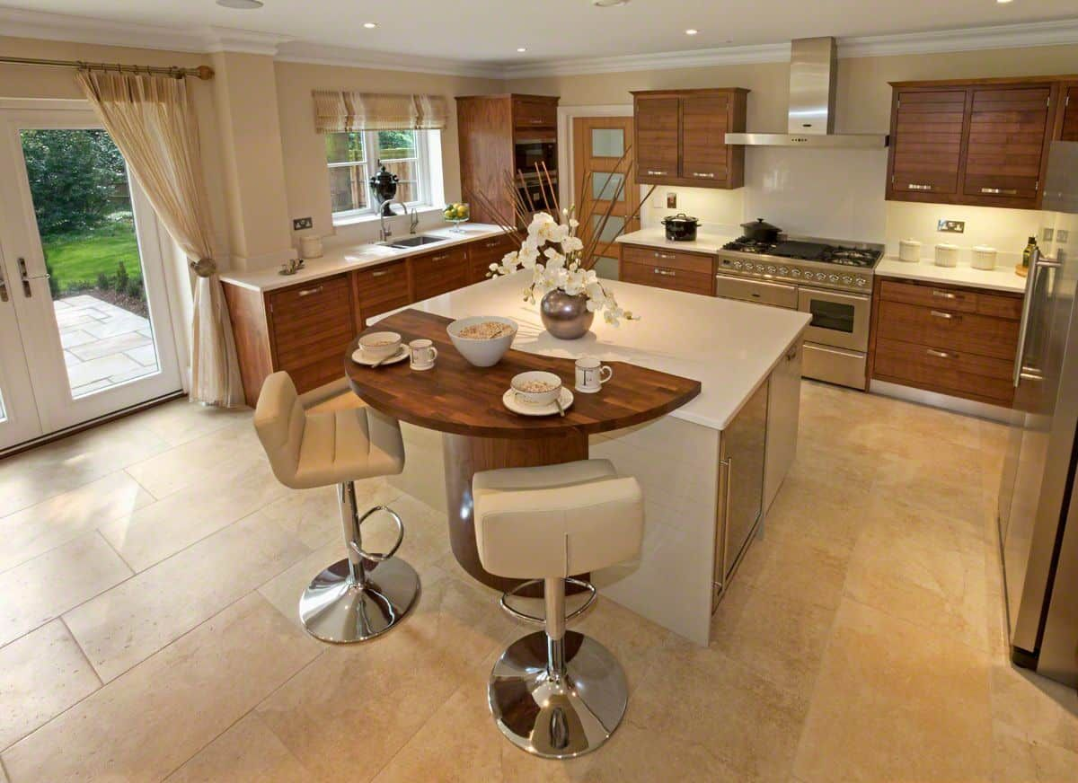 Kitchen Breakfast Bar For Exciting Addition   Simple kitchen ...