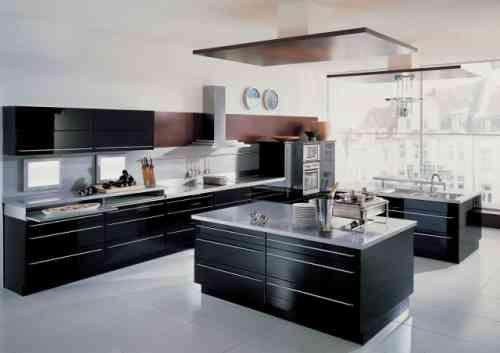 Carrelage cuisine en noir et blanc - 22 intérieurs inspirants Films