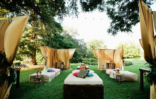 Garden Party Decoration exotic evening tent mosquitoes protection ...