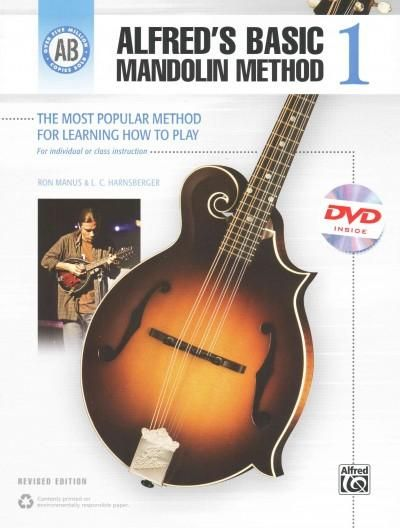 Alfred's Basic Mandolin Method 1: The Most Popular Method for Learning How to Play