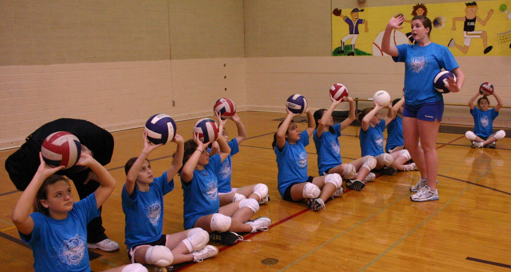 Before Fundamentals Volleyball Before Fundamentals Volleyball Great Website Volleyball Drills For Beginners Volleyball Practice Coaching Volleyball