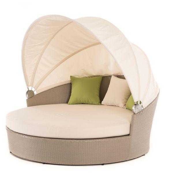Renava Gb10 Round Outdoor Daybed 17243018 Overstock Round Outdoor Daybed · Outdoor  Lounge ChairsOutdoor ...