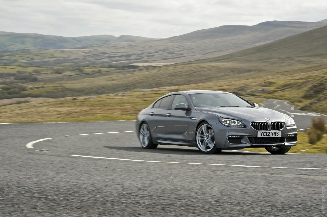 2012 BMW 6 Series Gran Coupe UK Version