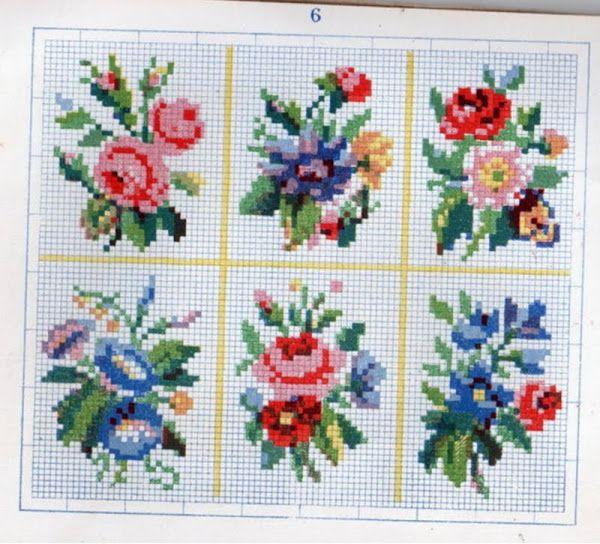 Картинка   cross stitch mini   Роза вышивка крестом ...