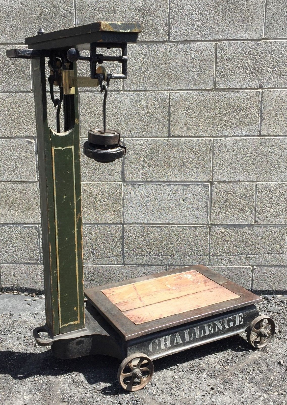 bffaf47aa7ad Antique  Challenge  Platform Grain Scale