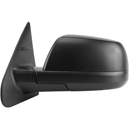 Fit System 70154T Toyota SR//SR5 Model Driver Side Textured Black Heated Power Replacement Mirror