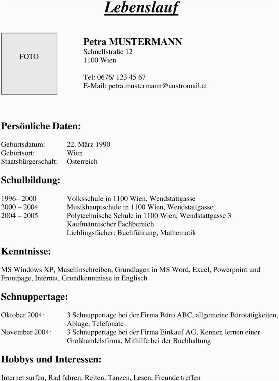 Lebenslauf Klassisch Jena Lebenslauf Bewerbung Schreiben Lebenslauf Muster