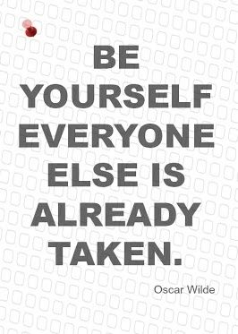 Be yourself #quote