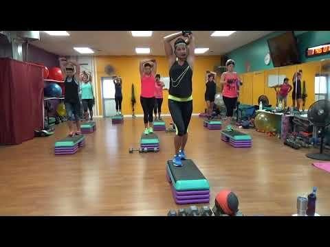 Aerobic zum Abnehmen Arme und Rücken Bifida