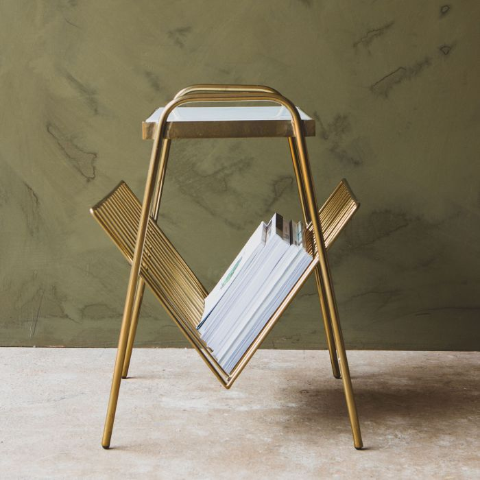 Best Magazine Rack Side Table In 2020 Contemporary Side 400 x 300
