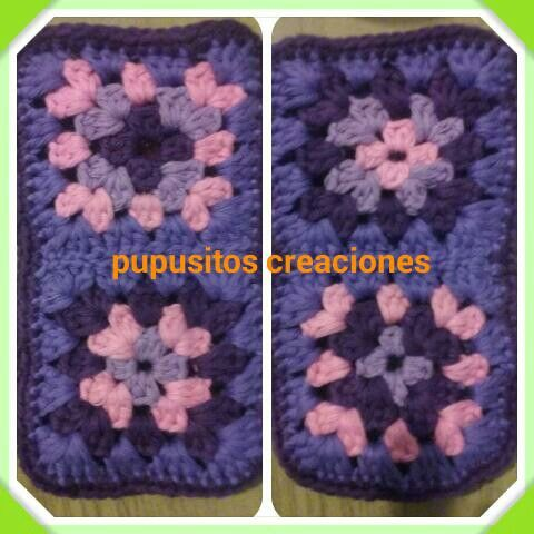 Portacelular crochet