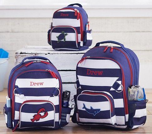 Fairfax Navy White Stripe Backpack   For My Boys   Backpacks ... 59c907702c