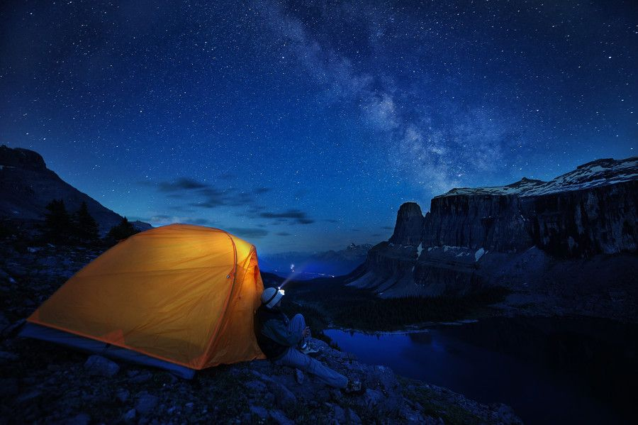 Camping on the edge by Victor Liu on 500px | Outdoor